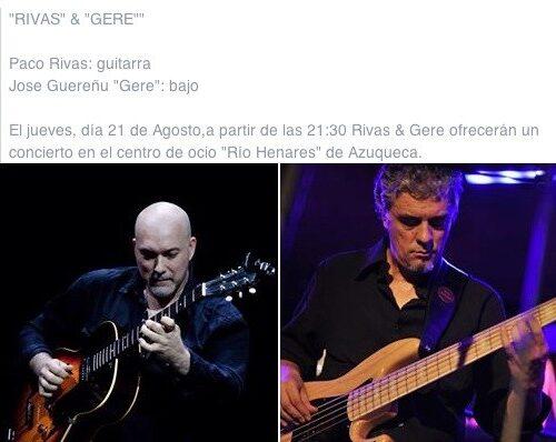 Gere y Rivas Concierto